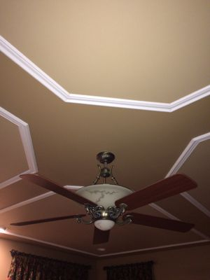 """Ceiling fan, Hampton Bay 60"""" wide for Sale in Waterford, VA"""