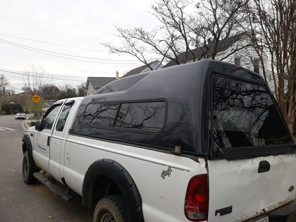 Ford f250 camper shell and or truck