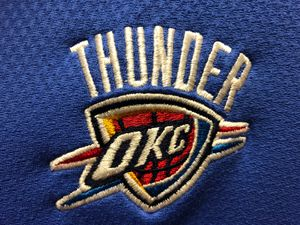 Thunder vs Lakers lower level tonight $125 section112, Row U seats 3/4 for Sale in Oklahoma City, OK