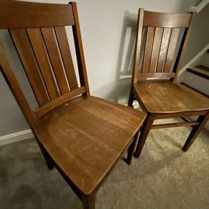 Beautiful Hardwood Antique Chairs for Sale in Leesburg, VA