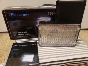 Flashpoint DSLR Camera Light for Sale in Mill Creek, WA
