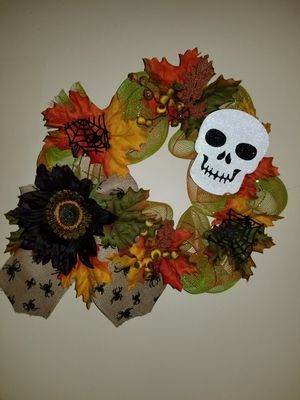 Halloween wreath for Sale in Chicago, IL