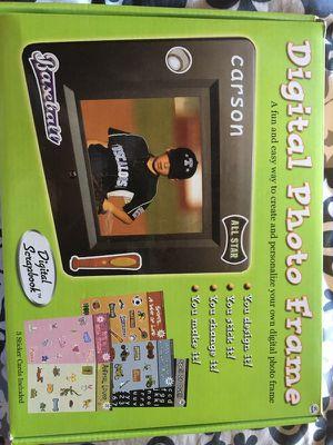 Brand new digital photo frame/MP3 /movie player for Sale in Sterling, VA