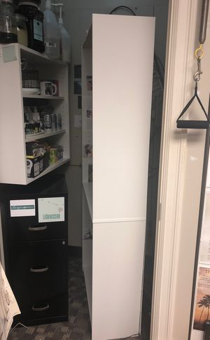White bookcases for Sale in Mercer Island, WA