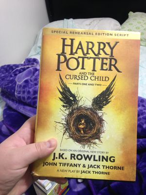 Harry Potter And The Cursed Child book for Sale in Phoenix, AZ
