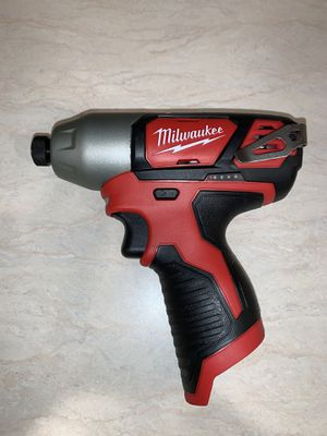 """Milwaukee m12 1/4"""" impact driver. Only $50 price is firm for Sale in Bellevue, WA"""