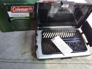 Coleman gas camping stove. Used 1 time for Sale in Arroyo Grande, CA