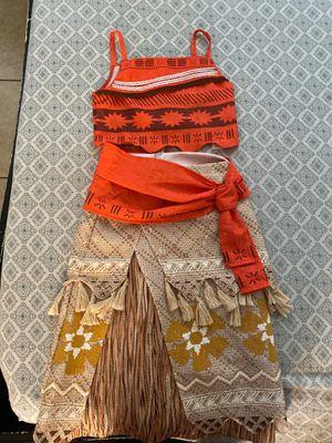 Moana girls costume for Sale in Phoenix, AZ