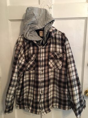 Men flannel red head brand co. checkered clothes size large for Sale in Los Angeles, CA
