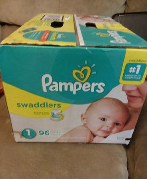 Pamper swaddlers Size 1 👶 96Count diapers $25/Box (Offers will be ignored) for Sale in Vallejo, CA