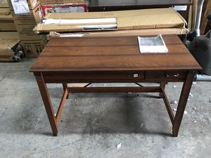Sauder Writing Desk (Light Brown) for Sale in Duluth, GA
