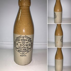 GINGER BEER P. DOWD. MANCHESTER: Stoneware, Antique, Vintage, Pottery. for Sale in Peoria, AZ