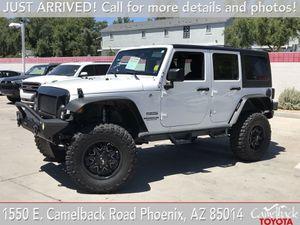 2016 Jeep Wrangler Unlimited for Sale in PHOENIX, AZ