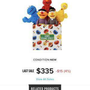 Sesame Street Kaws Plushes for Sale in Anaheim, CA