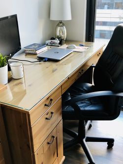 Pine Desk With Ton of Storage for Sale in Washington,  DC