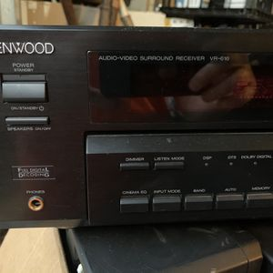 Kenwood Audio-Video Surround Receiver And Speaker System for Sale in Sugar Land, TX