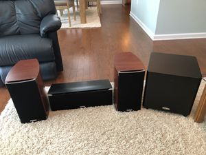 Polk audio system w/woofer for Sale in Canton, GA