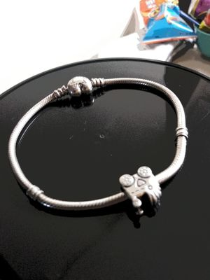 Pandora bracelet with one charm for Sale in Cleveland, OH