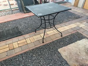 Big tables for outside steel tables for Sale in Apache Junction, AZ