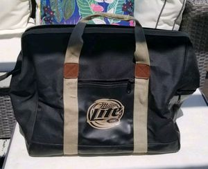 Vintage Rare Miller Lite insulated cooler duffle bag large for Sale in Peachtree Corners, GA