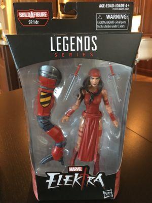 Marvel Legends Elektra $15 for Sale in San Diego, CA