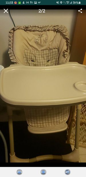 Free boy high chair for Sale in Seattle, WA