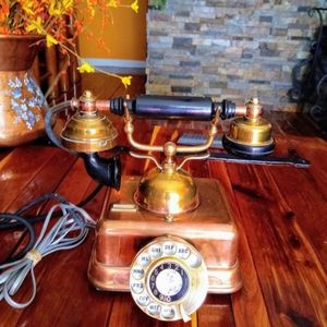 Antique Rotary Dial Cooper Telephone . Manufactured in Japan for Sale in Hialeah, FL