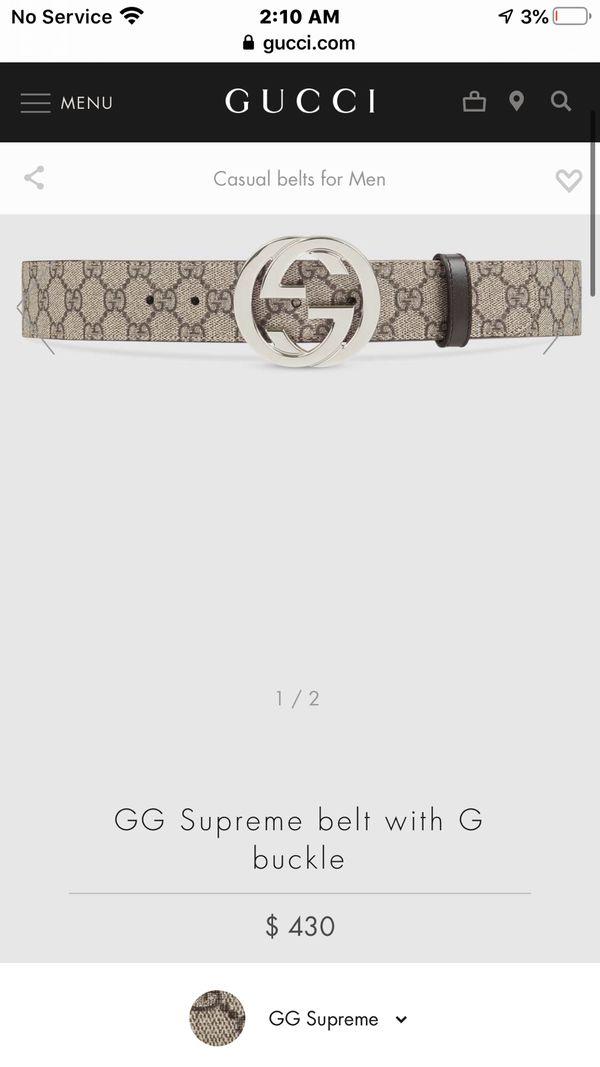 Brand new GG belt