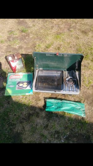 Camping stove with extras for Sale in Marysville, WA
