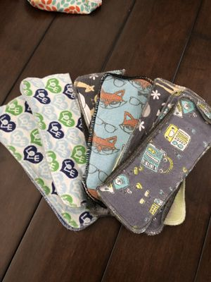 Newborn cloth diaper liners for Sale in Irving, TX