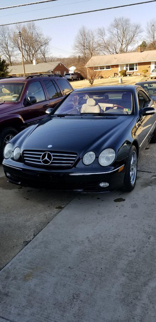 Mercedes benz cl500 2003