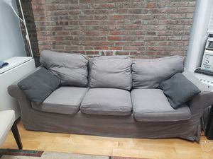 Gray sofa for Sale in PRINCE, NY
