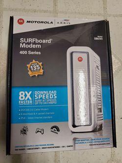 Motorola Surfboard internet modem for Sale in Los Nietos,  CA