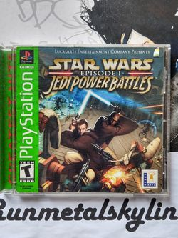 Star Wars: Episode I- Jedi Power Battles For PS1 for Sale in The Bronx,  NY