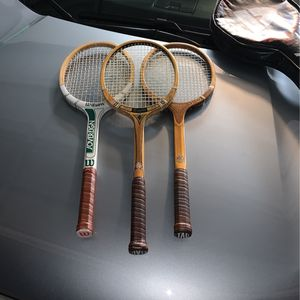 3 Vintage Tennis Rackets for Sale in Phoenix, AZ