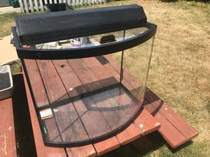 26g Bow Front Aquarium for Sale in Seattle, WA
