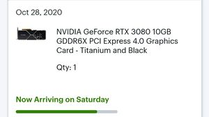 NVIDIA RTX 3080 Founders for Sale in Mesquite, TX