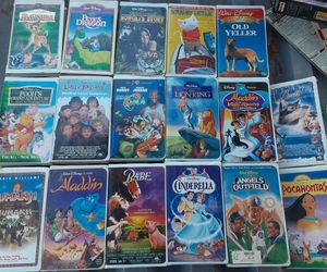 17 disney vhs tapes .movies for Sale in Denver, CO