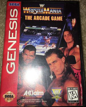 Sega WWF WrestleMania the Arcade Game for Sale in Blacklick, OH