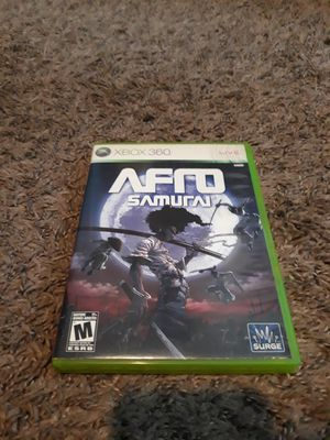 Afro Samurai for XBOX 360 for Sale in Columbus, OH