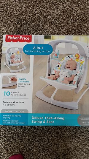 Fisher-price 2-in-1 Deluxe Take-Along Swing and Seat for Sale in Millsboro, DE