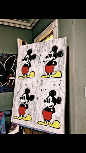 Original Mickey Mouse painting 1 of 1 for Sale in Miami, FL