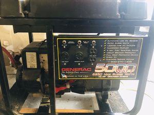 GENERAC 5000 WATT GENERATOR for Sale in Roy, WA