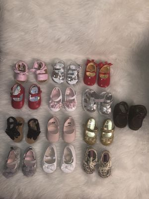 Baby Girl Shoes ( Size 1,2,3 ) for Sale in Aurora, CO