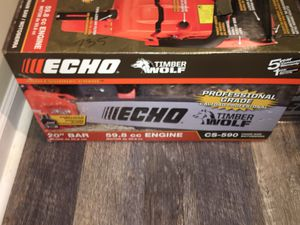 Echo model CS-590 chainsaw brand new for Sale in Bensalem, PA