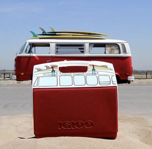 Sold out Limited Edition VW bus Igloo cooler- great gift! for Sale in Solana Beach, CA