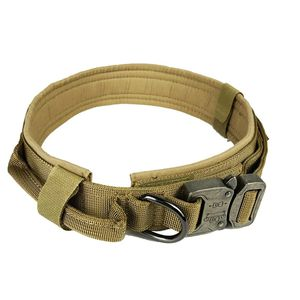 Soft Nylon Dog Collar Dog Neck Tactical Training Collar Pet Military Collar Dog Police Pet Products For Puppy Pet Products for Sale in Bakersfield, CA