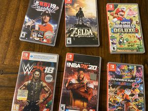 Nintendo Switch Games for Sale in Saginaw, TX