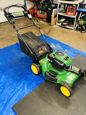 "John Deere JS26 7.0HP 22"" Mowmentum FWD Self Propelled Lawn Mower w/ Bagger for Sale in Agawam, MA"