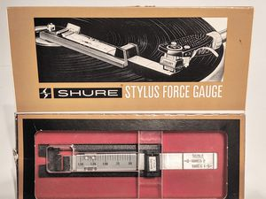 Shure SFG-2 Stylus Force Gauge for Turntable for Sale in Kirkland, WA